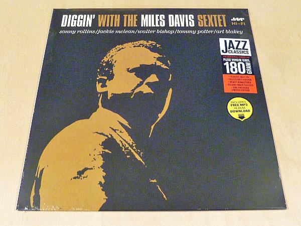マイルス・デイヴィスDiggin' With The Miles Davis Sextet限定180g盤新品LPボーナス2曲Sonny Rollins Walter Bishop Jr Charles Mingus_限定リマスター180g重量盤