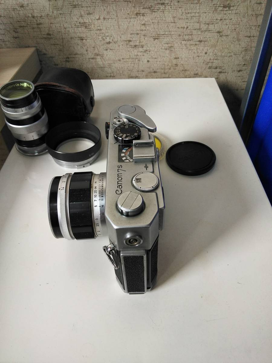 Canon 7s CANON LENS 50mm f:1.4_画像4
