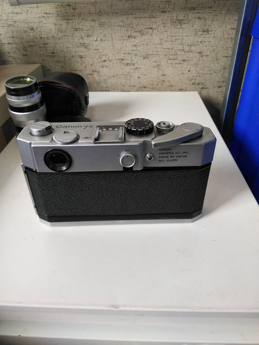 Canon 7s CANON LENS 50mm f:1.4_画像5