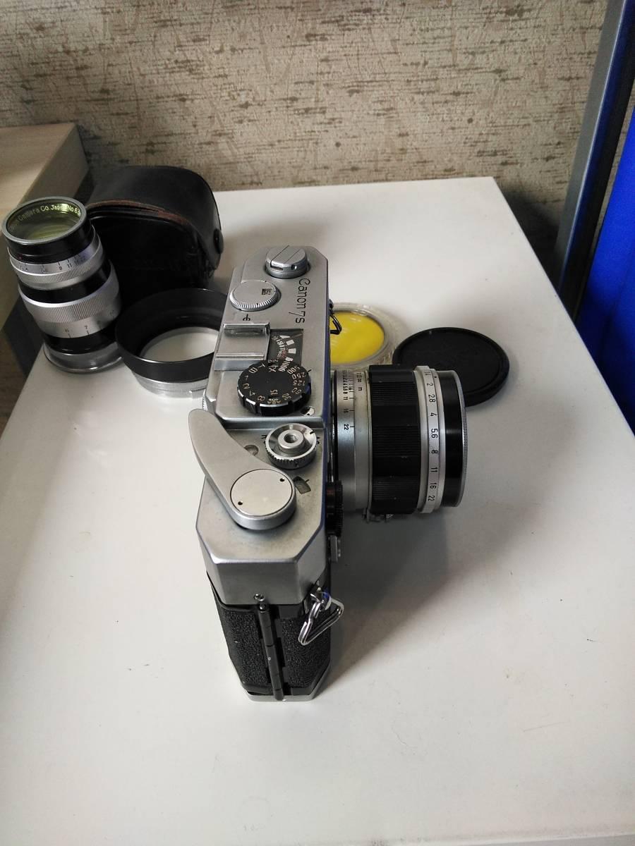 Canon 7s CANON LENS 50mm f:1.4_画像6
