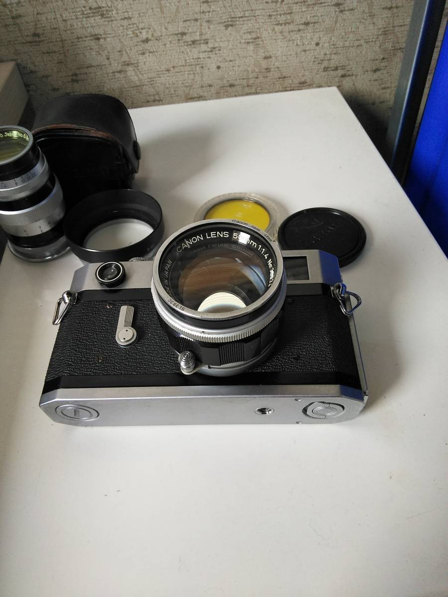 Canon 7s CANON LENS 50mm f:1.4_画像7