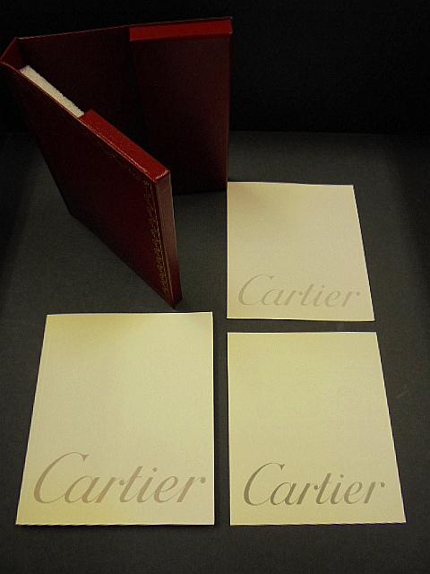 1円スタート/カルティエ/Cartier/時計 空箱/小冊子付-2/1スタ_画像8