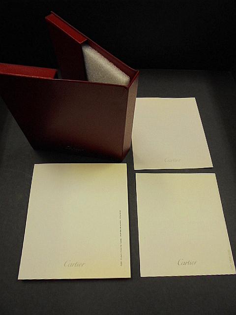 1円スタート/カルティエ/Cartier/時計 空箱/小冊子付-2/1スタ_画像7