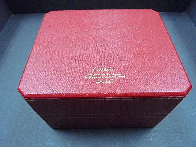 1円スタート/カルティエ/Cartier/時計 空箱/小冊子付-2/1スタ_画像4
