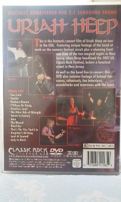 激レア DVD 廃盤 ユーライア・ヒープ Uriah Heep-Live In The USA リマスター版 Lionheart/Praying Mantis/The Sweet_画像3