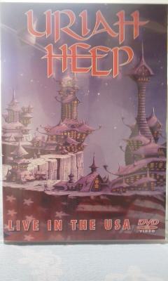 激レア DVD 廃盤 ユーライア・ヒープ Uriah Heep-Live In The USA リマスター版 Lionheart/Praying Mantis/The Sweet_画像1