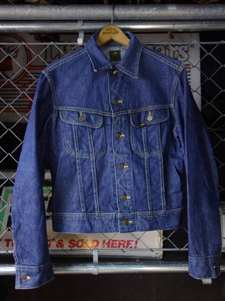 729bbd1d beautiful goods 70s Lee UNION MADE IN USA black tag 101-J Vintage G Jean  (36)