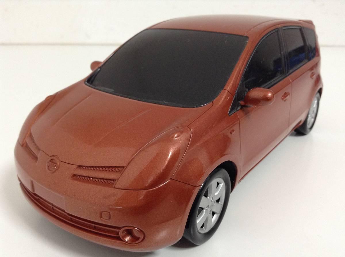 日産 初代 ノート E11 前期型 2005年式~ 1/20 約20cm ブライトカッパー ミニカー カラーサンプル 色見本 非売品 送料¥350_ブライトカッパー 1/20 約20cm