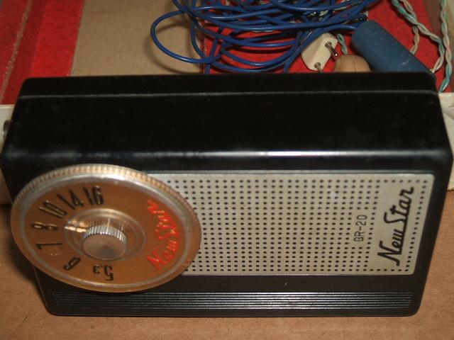 ゲルマラジオ ニュースター クリスタルラジオ GR-20 ブラック_画像4