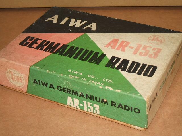 ゲルマラジオ アイワ/AIWAゲルマニュームラジオ AR-153_画像10