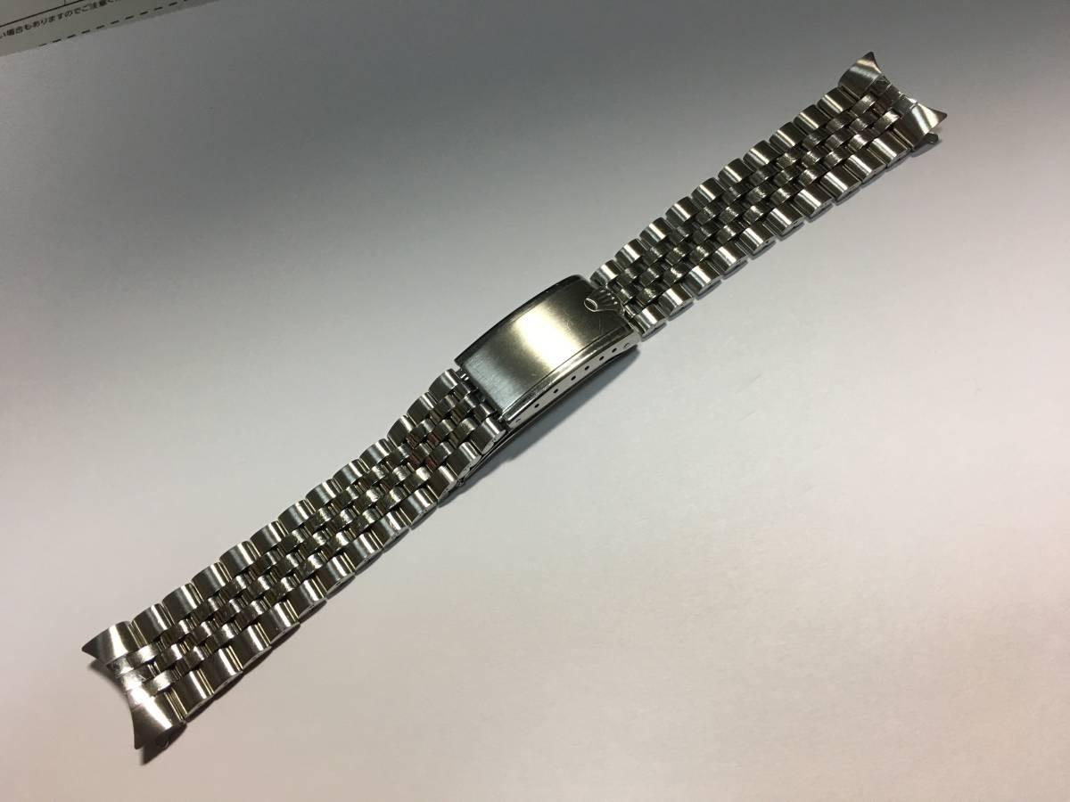 1970年 純正 スイス製 ロレックス ジュビリー巻込みブレス 6251H/FF55 22コマ 20m