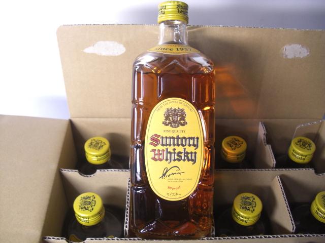送料無料★サントリー ウイスキー 角瓶 700ml 12本入 (1ケース)(ガラスボトル)