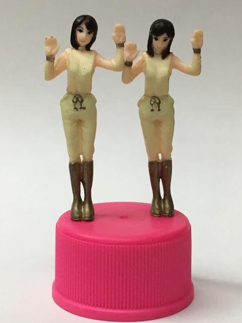 ■★ピンクレディーボトルキャップコレクション No.09 透明人間_画像1