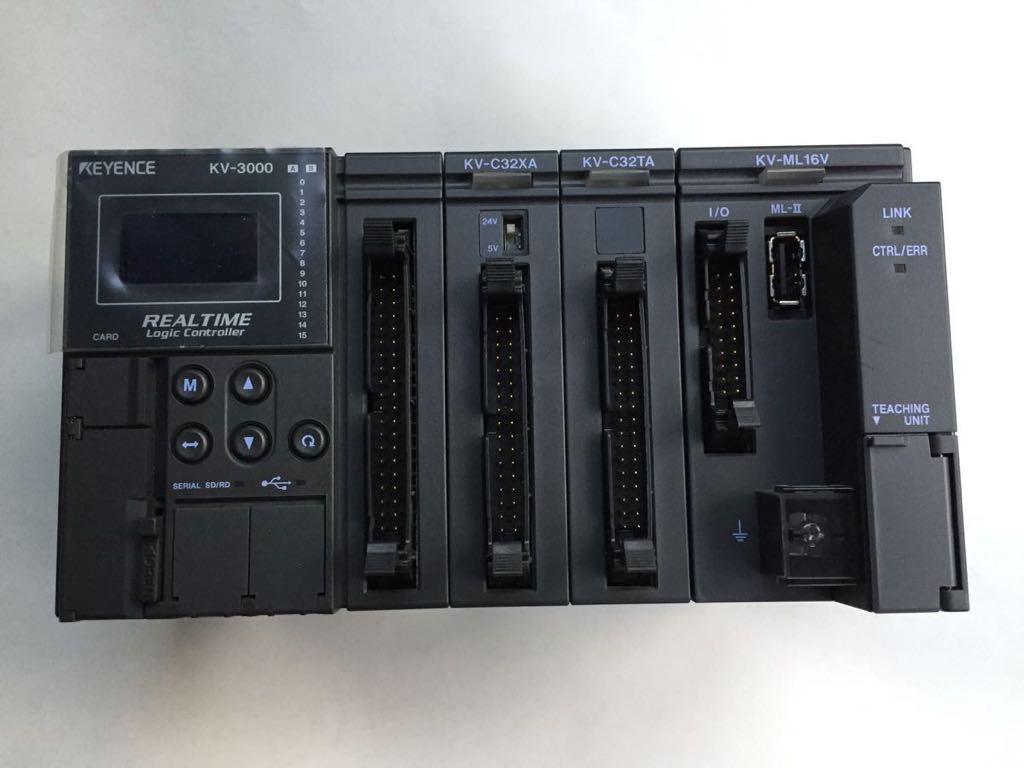 キーエンス KV-3000 KV-C32XA KV-C32TA KV-ML16V PLC シーケンサ KEYENCE センサ 画像 モ