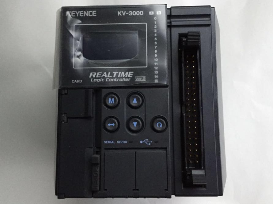 キーエンス KV-3000 CPU PLC シーケンサ KEYENCE センサ 画像 モーター インバーター サ
