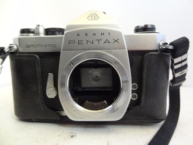 158 ジャンク カメラ PENTAX SPOTMATIC SP_画像4