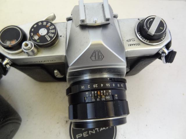 158 ジャンク カメラ PENTAX SPOTMATIC SP_画像2