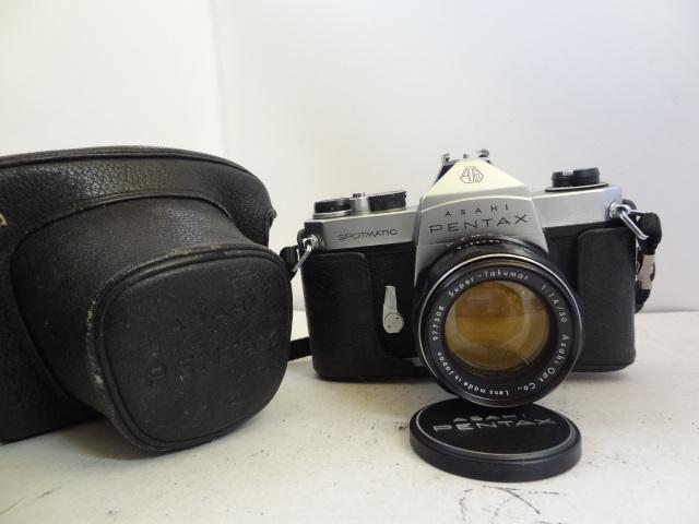 158 ジャンク カメラ PENTAX SPOTMATIC SP