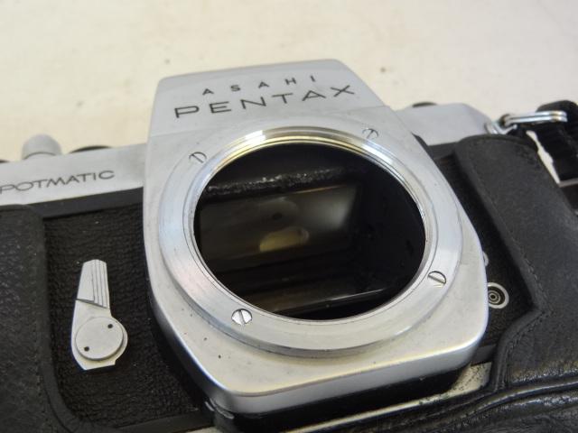 158 ジャンク カメラ PENTAX SPOTMATIC SP_画像5