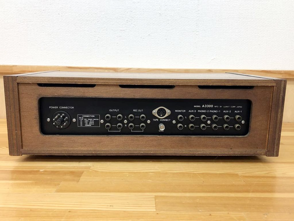 ◆LAX KIT◆ラックスキット ☆HIGH FIDELITY STEREO PREAMPLIFIER☆ (model A3300) プリアンプ ジャンク 323m4_画像6
