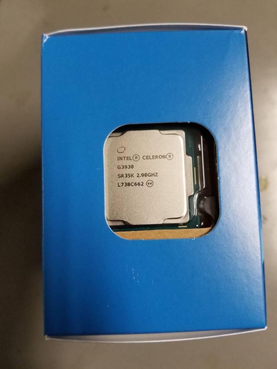 Intel CPU Celeron G3930 2.9GHz 2Mキャッシュ 2コア/2スレッド LGA1151 (送料込)