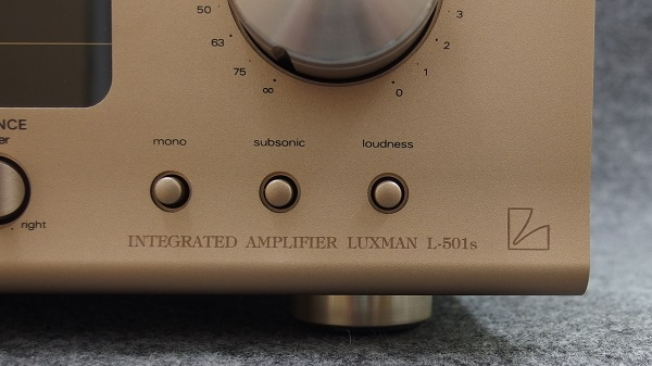 LUXMAN ラックスマン / プリメインアンプ / L-501s(ジャンク品)_画像6