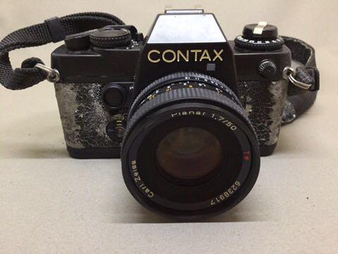 コンタックス CONTAX フィルムカメラ 139 QUARTZ ジャンク品_画像4