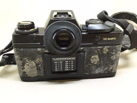 コンタックス CONTAX フィルムカメラ 139 QUARTZ ジャンク品_画像2