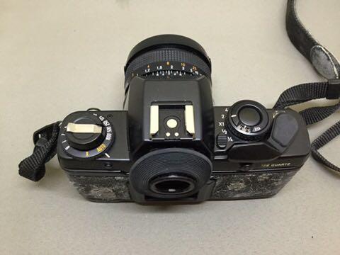コンタックス CONTAX フィルムカメラ 139 QUARTZ ジャンク品_画像3