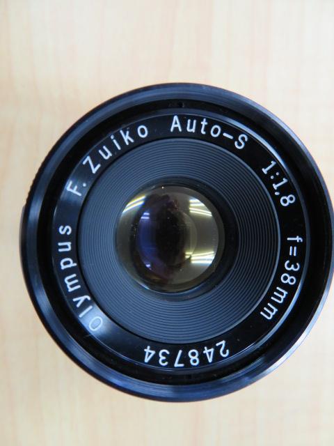 【920-A】OLYMPYS-PEN F オリンパス ペンF 稀少ケース付き レンズ2点付き_画像7
