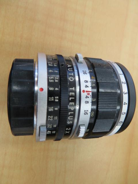 【920-A】OLYMPYS-PEN F オリンパス ペンF 稀少ケース付き レンズ2点付き_画像4