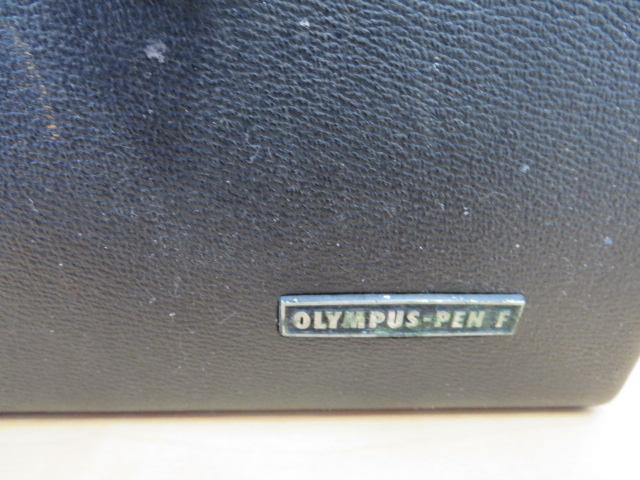 【920-A】OLYMPYS-PEN F オリンパス ペンF 稀少ケース付き レンズ2点付き_画像9