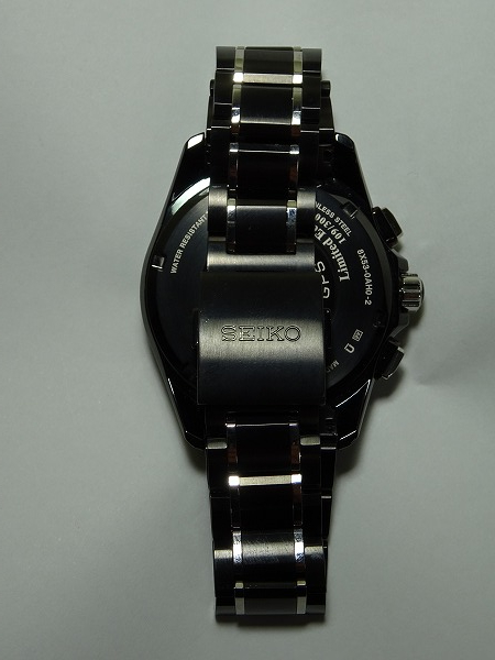 限定300個! 確実正規品 SEIKO ASTRON セイコーアストロン GPSソーラー腕時計 8X53-0AH0-2 シリアルナンバー 109/300_画像3