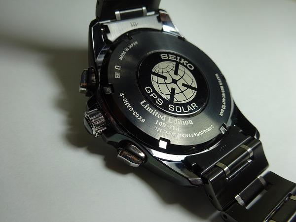 限定300個! 確実正規品 SEIKO ASTRON セイコーアストロン GPSソーラー腕時計 8X53-0AH0-2 シリアルナンバー 109/300_画像4