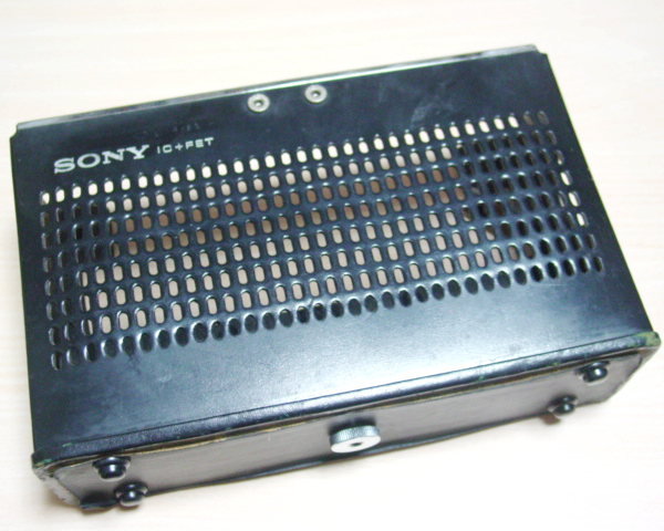 SONY ICF-500 付属品たくさんですが完全ジャンク_画像10