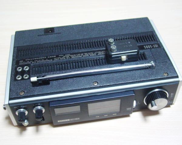 SONY ICF-500 付属品たくさんですが完全ジャンク_画像3