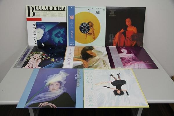 ◆門 あさ美 LPレコード 8枚セット◆中古品