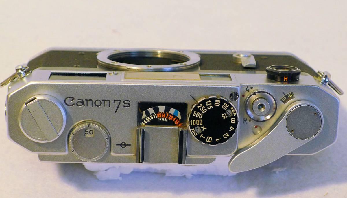 Canon 7s ボデー ジャンク_画像2