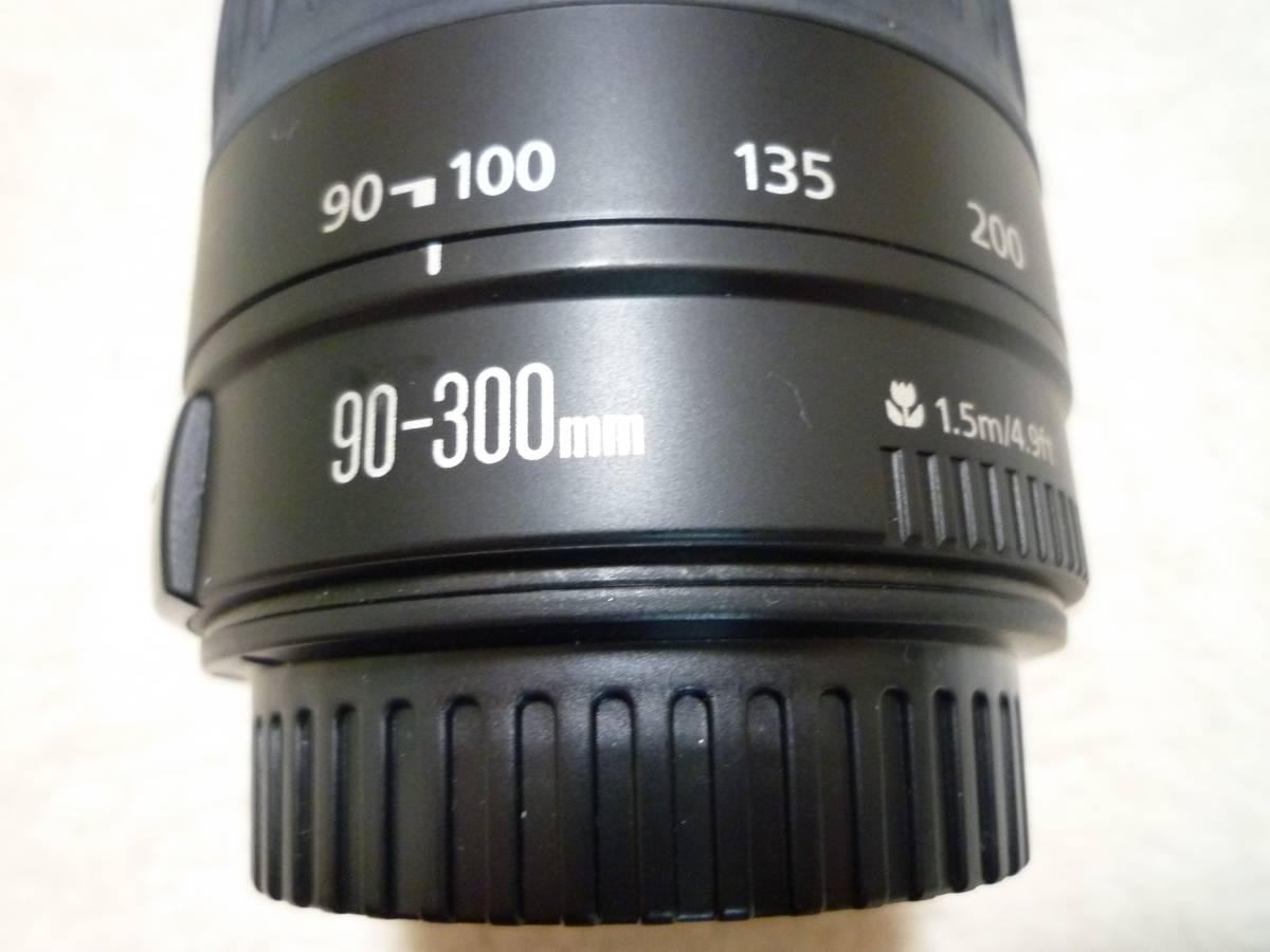 CANON■キャノン■EF 90-300mm F4.5-5.6 ■望遠レンズ■中古品■喫煙者・ペットなし