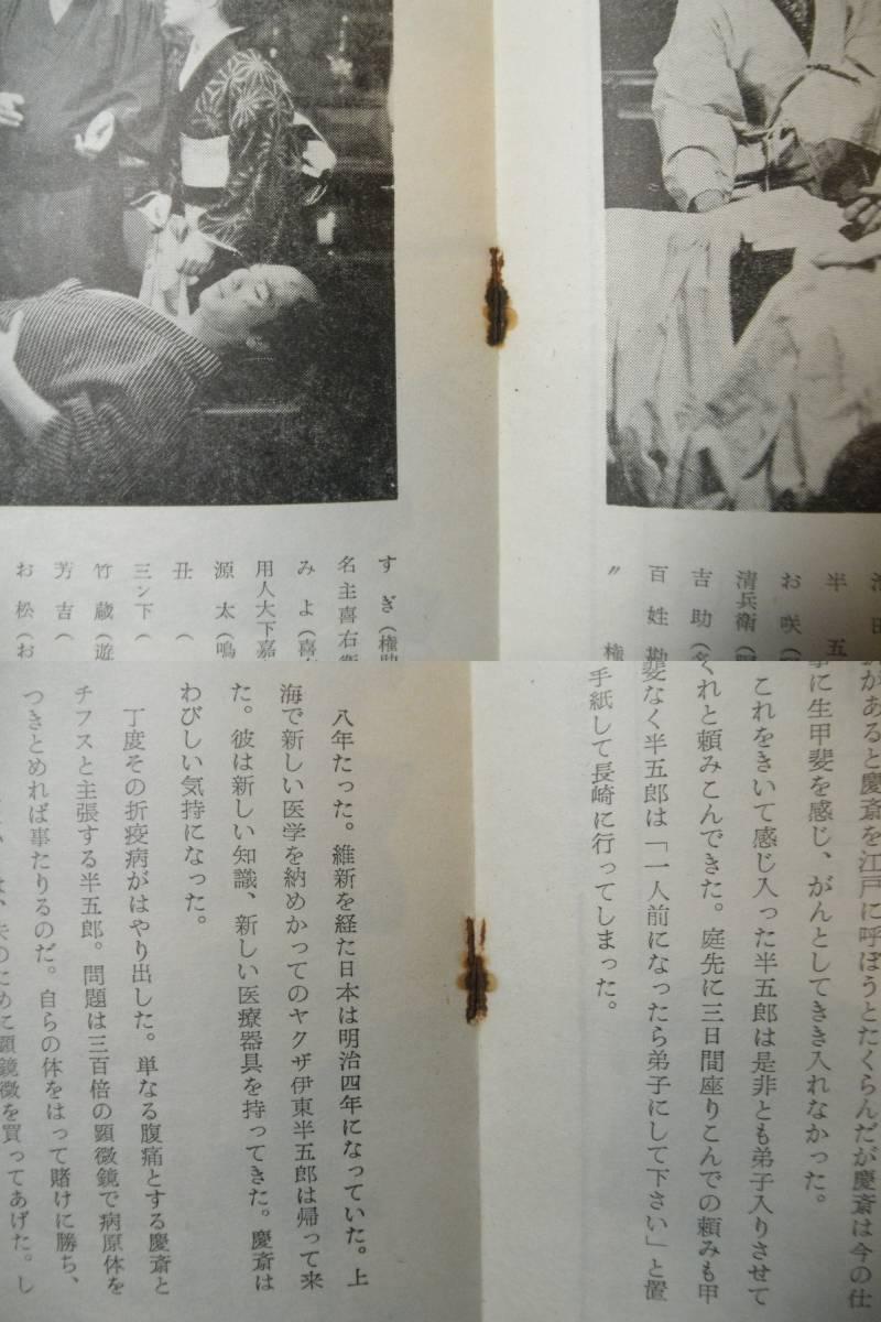男対男 A4 昭35 初版 三船敏郎、池部良、加山雄三デビュー作_画像4