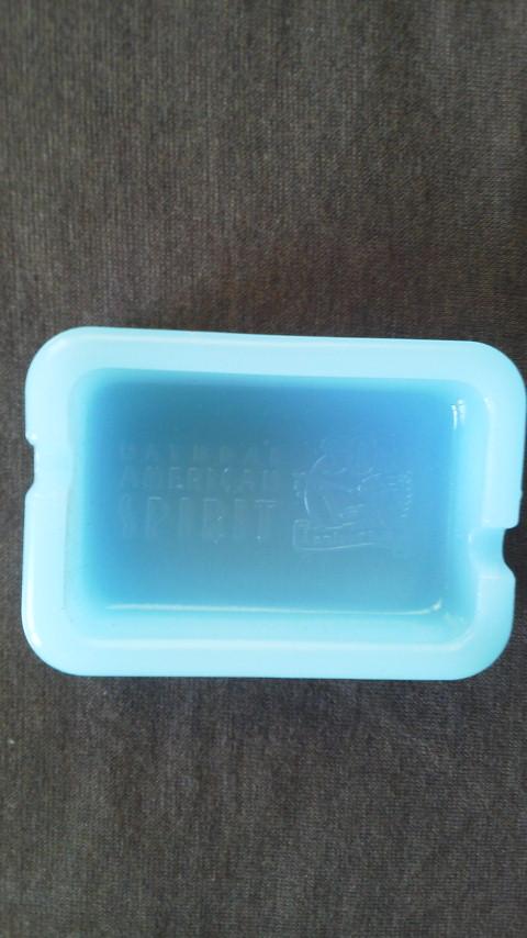 【新品・非売品】 NATURAL AMERICAN SPIRIT オリジナル ミルクガラス灰皿_画像3