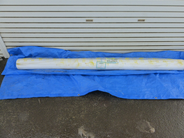 ユニチカ 被覆資材(不織布) スーパーパスライト 幅2.1m、長さ100m 1本 未使用品_画像2