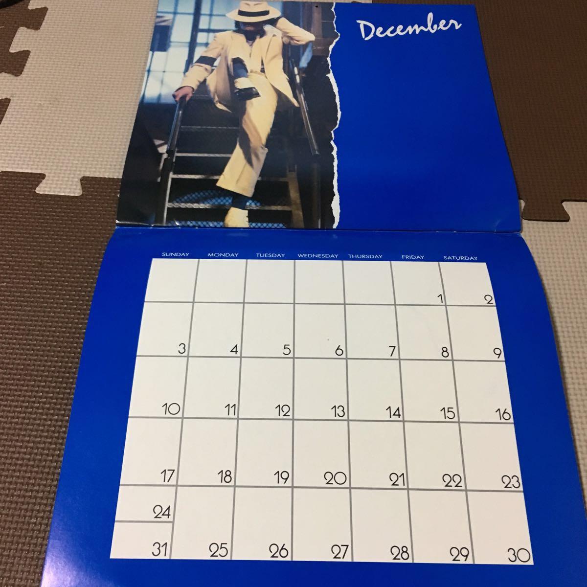 マイケルジャクソン カレンダー ムーンウォーカー 1989年(輸入版)_画像8