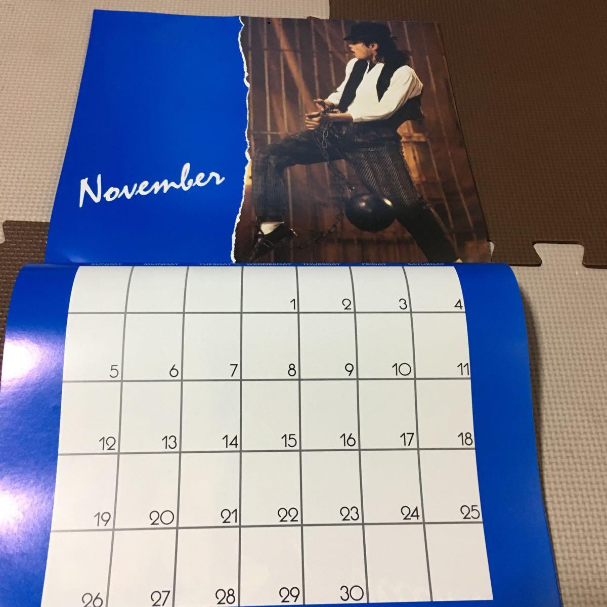 マイケルジャクソン カレンダー ムーンウォーカー 1989年(輸入版)_画像7