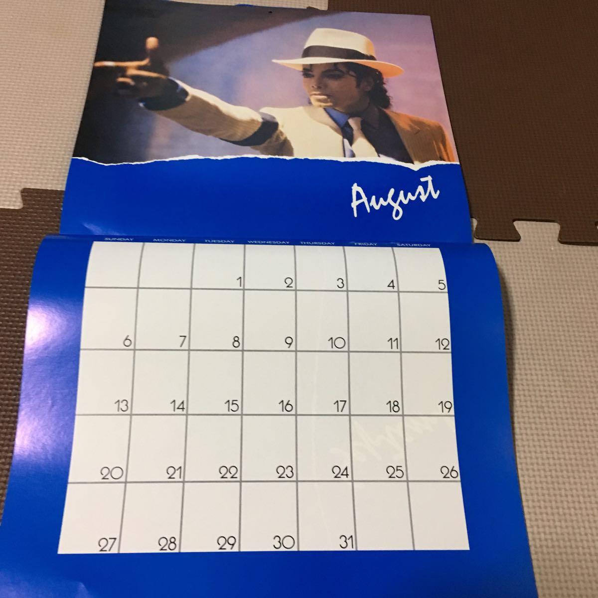 マイケルジャクソン カレンダー ムーンウォーカー 1989年(輸入版)_画像5