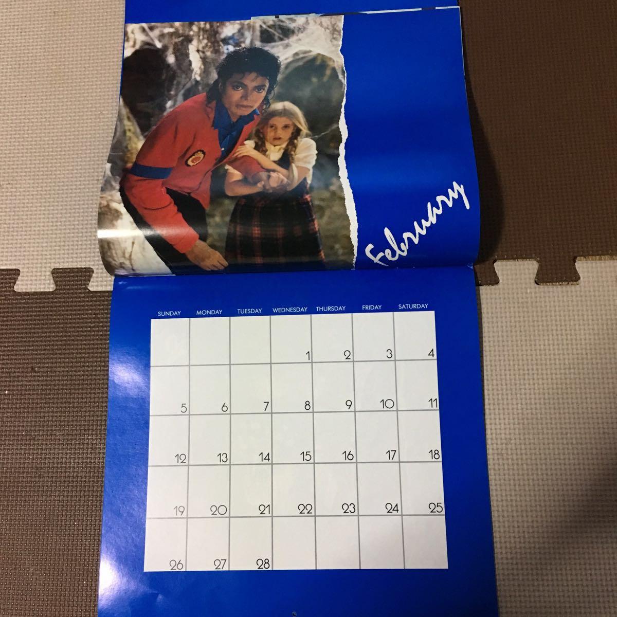 マイケルジャクソン カレンダー ムーンウォーカー 1989年(輸入版)_画像2