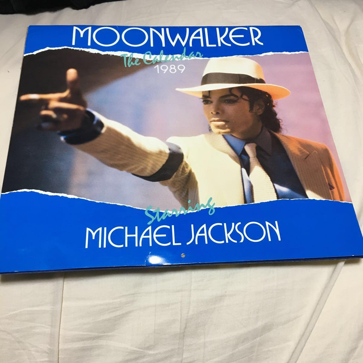 マイケルジャクソン カレンダー ムーンウォーカー 1989年(輸入版)_画像1
