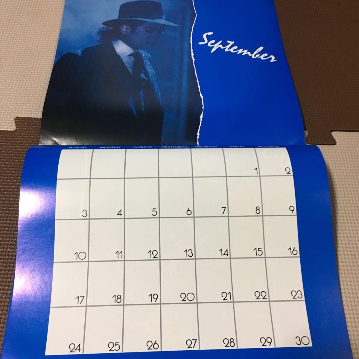 マイケルジャクソン カレンダー ムーンウォーカー 1989年(輸入版)_画像6