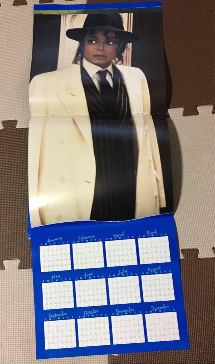 マイケルジャクソン カレンダー ムーンウォーカー 1989年(輸入版)_画像4
