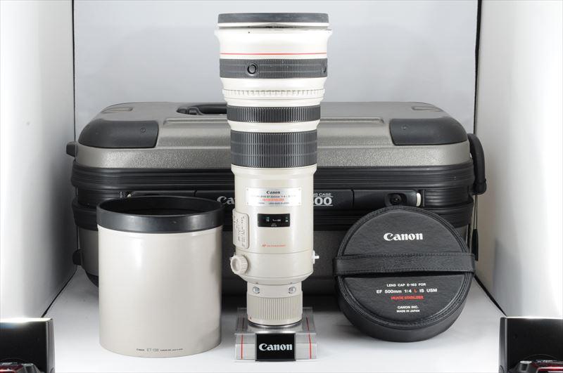★極上品★Canon EF 500mm F4 L IS USM ケース有 #3305MSS